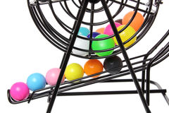 Modig bur för Bingo Royaltyfri Fotografi