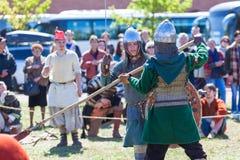 Modig duell Royaltyfri Fotografi