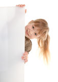 modig flicka för barn Royaltyfria Foton