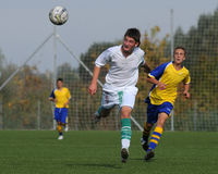 modig fotboll u15 Arkivbild