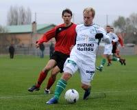 modig fotboll u19 Fotografering för Bildbyråer