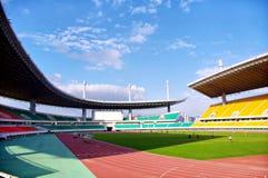 modig fotbollstadion Arkivfoton