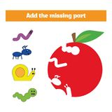modig grå pusselserie för blue Visuell bildande lek för barn Uppgift: finna de saknade delarna Arbetssedel för förskole- ungar royaltyfri fotografi