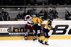 modig hockey Arkivbilder