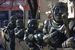 modig korridorhockey för berömmelse vår toronto Arkivbild
