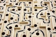 modig labyrint Arkivbild