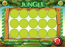 Modig mall med djungeltema vektor illustrationer
