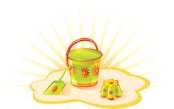 modig sandset Royaltyfri Foto
