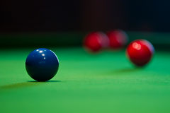 modig snooker Royaltyfri Foto