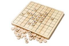 modig sudoku royaltyfri bild