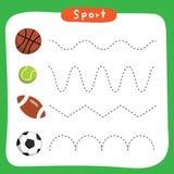 Modig vektordesign för sport royaltyfri illustrationer