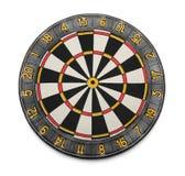 modigt mål för dartboard royaltyfri fotografi
