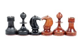 Modigt schack Arkivfoton