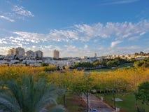 Modiin stad i Israel royaltyfri bild