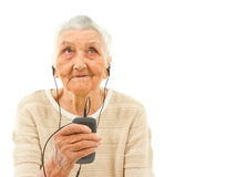 Modische Großmutter Lizenzfreie Stockfotografie