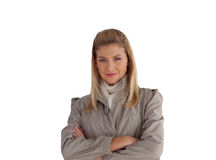 Modische junge Geschäftsfrau Stockfoto
