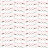 Modische Pastellstrickgarngarn-Schnurstreifen stock abbildung