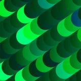 Modischer hellgrüner Pfau kreist BG-Entwurf ein vektor abbildung