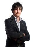 Modischer junger Mann Lizenzfreies Stockfoto