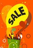 Modischer Verkauf Lizenzfreies Stockbild