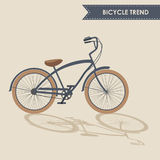 Modisches Fahrrad Lizenzfreie Stockfotos