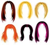 Modisches Haaranreden Stockbilder