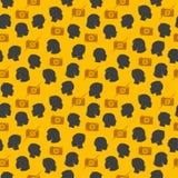 Modisches nahtloses Muster stock abbildung
