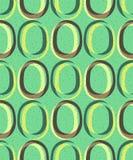 Modisches Retro- nahtloses Muster Stockbild