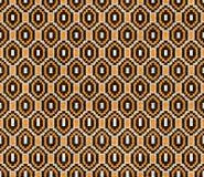 Modisches, zeitgenössisches ethnisches nahtloses Muster lizenzfreie abbildung
