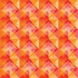 Modèle carré chaud de fond Image libre de droits