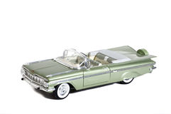 Modèle d'échelle de l'Impala 1959 de Chevy Photo stock