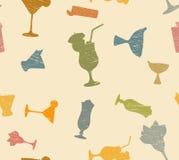 Modèle de cocktails Photographie stock