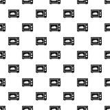 Modèle de four à micro-ondes, style simple Image libre de droits