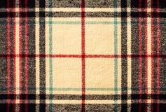 Modèle de plaid de tartan de tissu comme fond Photos stock