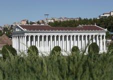 Modèle de temple d'Artemis Images libres de droits