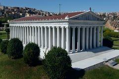 Modèle de temple d'Artemis Photographie stock libre de droits