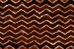 Modèle de zigzag tribal abstrait Image stock