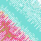 Modèle diagonal abstrait Photographie stock libre de droits