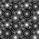 Modèle en spirale hypnotique Image libre de droits