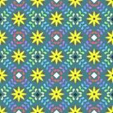 Modèle floral de ressort Images libres de droits