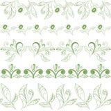 Modèle floral sans couture abstrait Image stock