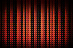 Modèle linéaire en noir et rouge Photos libres de droits