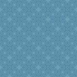 Modèle linéaire sans couture neutre de Flourish Image stock