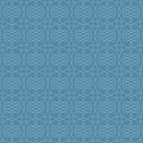 Modèle linéaire sans couture neutre de Flourish Photographie stock libre de droits