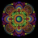 Modèle Paisley vert Image libre de droits