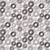 Modèle pointillé sans couture de cercles Image libre de droits