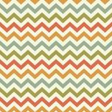 Modèle populaire de chevron de zigzag de vintage Images stock