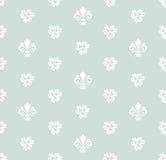 Modèle sans couture avec le lis royal Photo stock