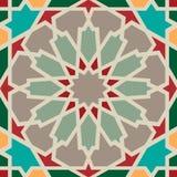 Modèle sans couture d'arabesque Image stock