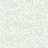 Modèle sans couture de Rose Image libre de droits